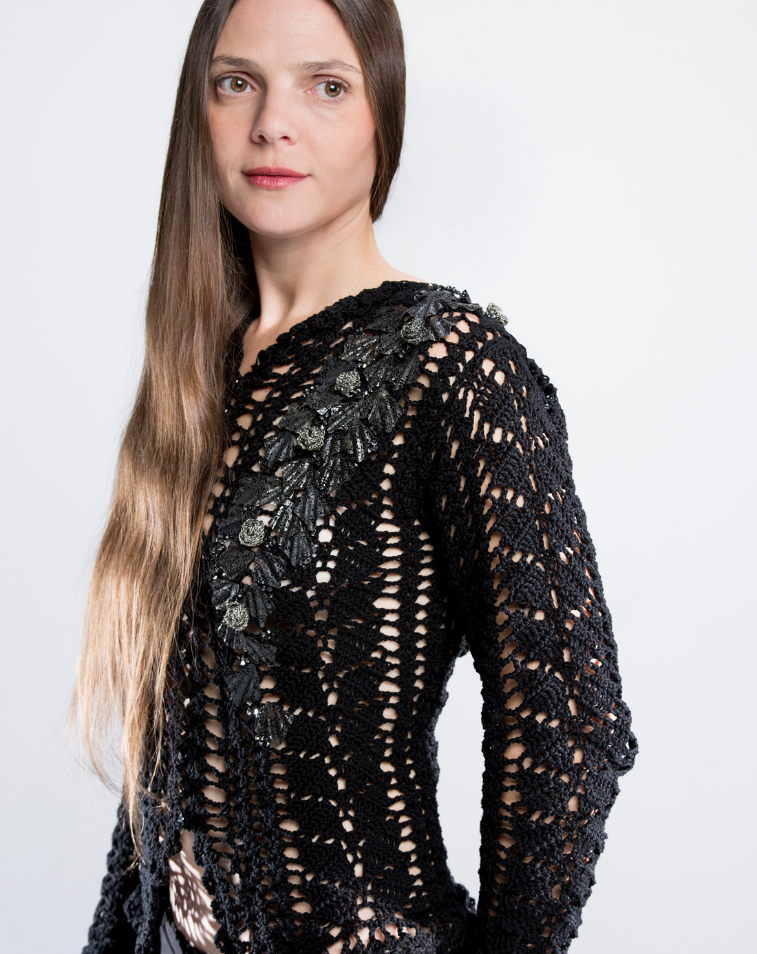crochet SWEATER portfolio