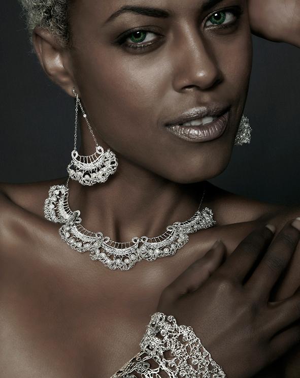 crochet lace jewelry