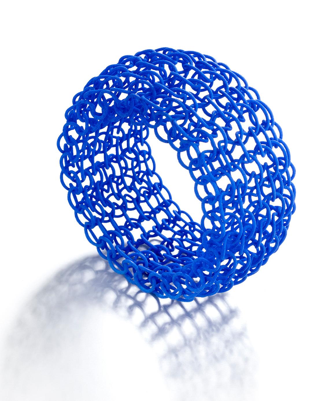 3d knitting bracelet